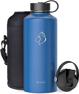 BUZIO Water Bottle Cobalt 87 oz
