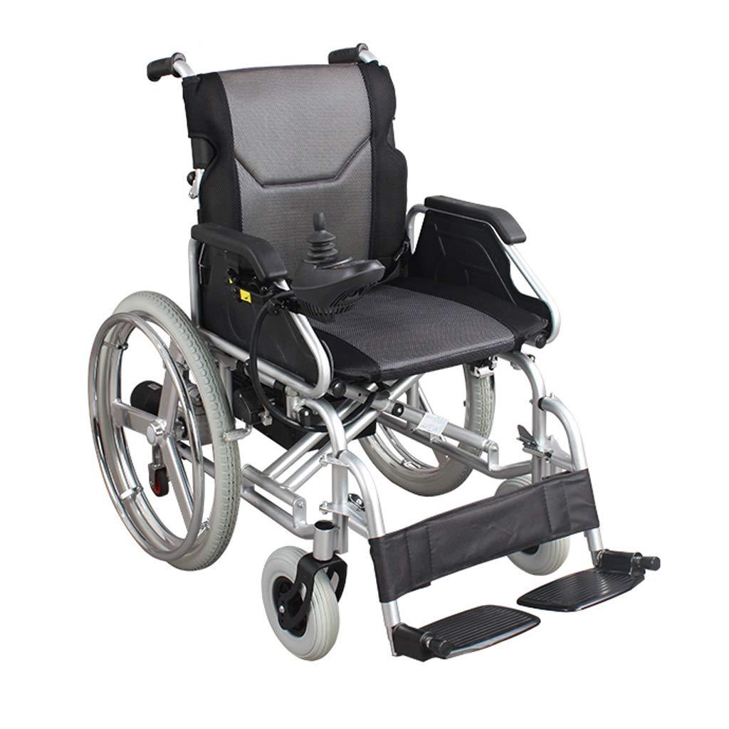 多機能電動車椅子 - 折り畳み式電動車椅子鉛蓄電池 (色 : ブラック)  ブラック B07PK2VVPK
