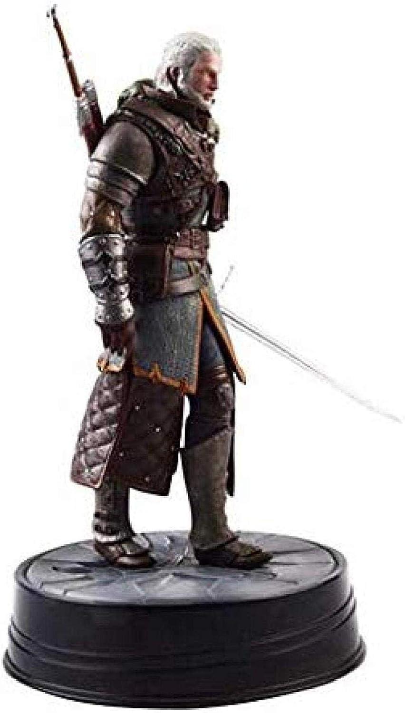 Wild Hunt Alta 9 5 Pulgadas (2 Piezas) Geralt Grandmaster Ursine Figure Escultura precisa Altamente Detallada YYZZ The Witcher 3