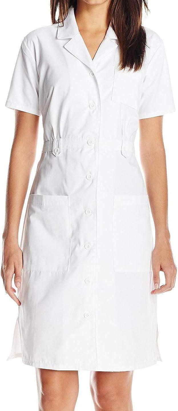 Dickies EDS Professional Women Scrubs Button Dress Ranking TOP4 84500 High order Front