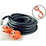 GoWISE Power RVC3004 50-Feet 30-Amp RV Extension cord with Handles- 30 Amp Male to 30 Amp Female