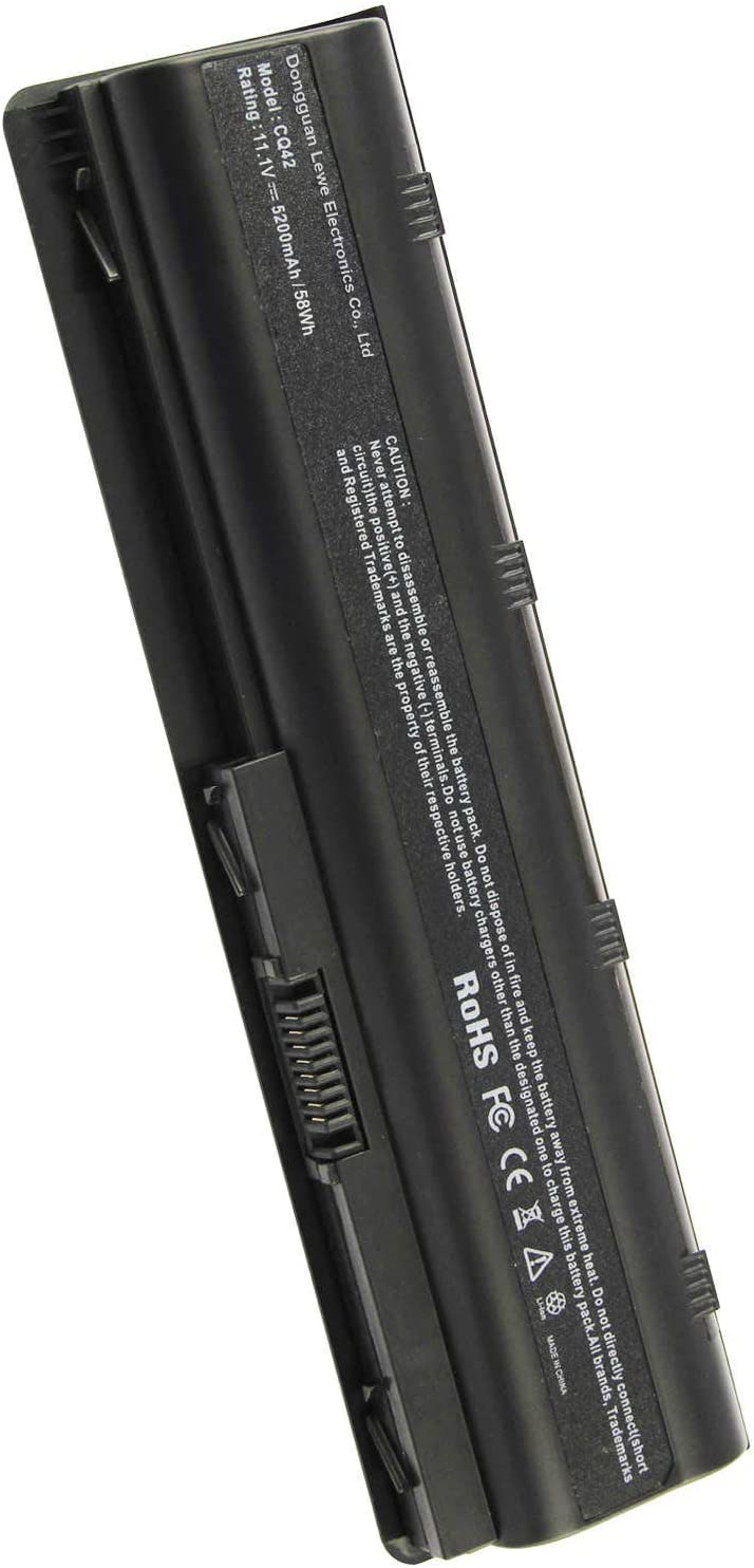 ARyee MU06 Laptop Battery Compatible with HP Compaq CQ32 CQ42 CQ56 CQ57 CQ58 CQ62 CQ72 HP 593562-001 593554-001 MU06 DM4 Series Notebook(5200mAh 11.1V)