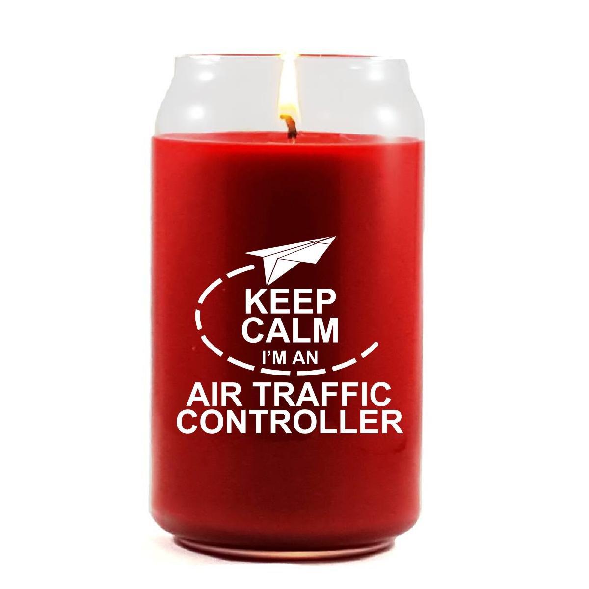 Keep Calm Im An Air Traffic Controller - Scented Candle