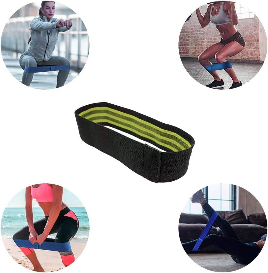 Activation des Muscles Meowoo Bande /Élastique R/ésistance//Souple et Antid/érapante Hip Circle Band//Bandes de Hanche pour Musculation /Échauffement