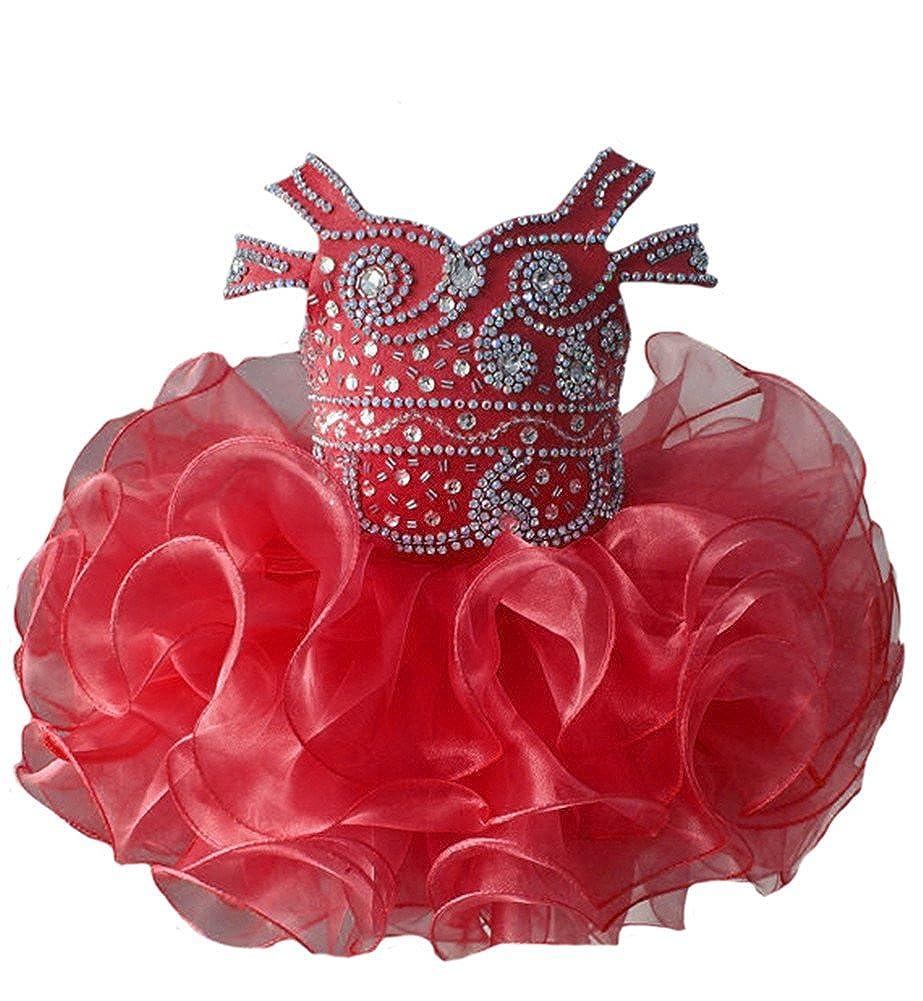 人気特価激安 Zhoumei DRESS ベビーガールズ B07B8PJD4H 2Years Zhoumei レッド レッド B07B8PJD4H, ミサワシ:93425587 --- a0267596.xsph.ru