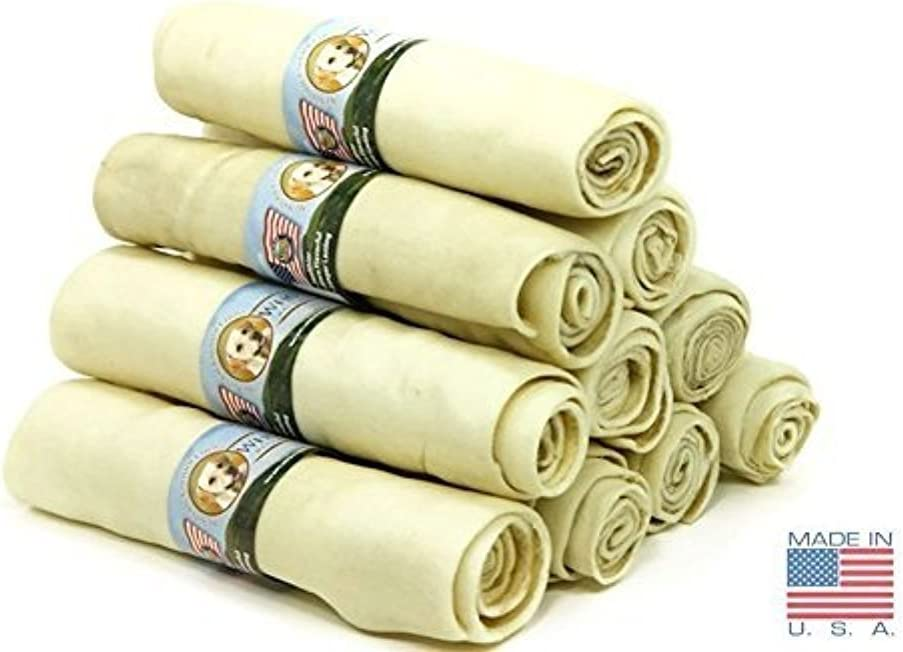 (10 Pack) of Wholesome Hide Super Thick Retriever Rolls 10 Inch 61avFYj98dLSL1000_