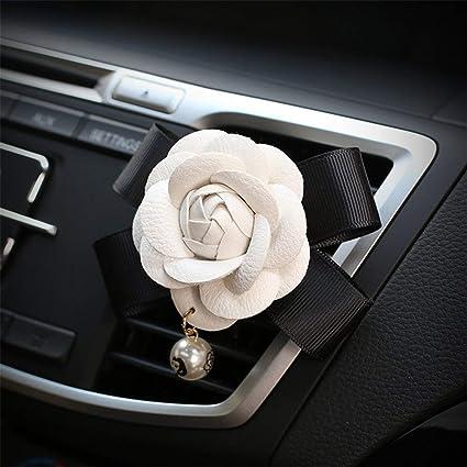 Amazon eing cute camellia car air conditioner vent freshener eing cute camellia car air conditioner vent freshener clip auto essential oil gift decor accessory mightylinksfo