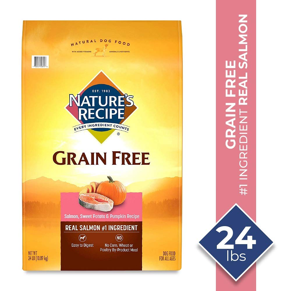 3.Nature's Recipe Grain-Free Dry Dog Food