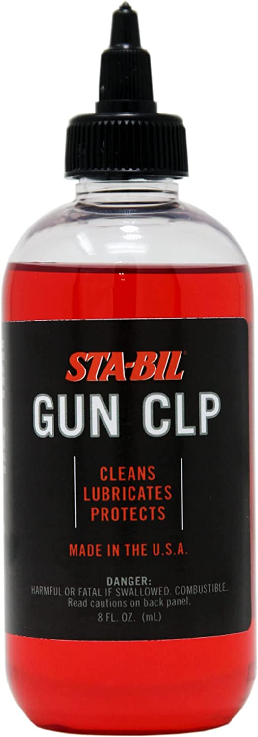 STA-BIL Gun CLP - Cleans, Lubricates, Protects - Superior Lubrication with Anti-Wear Protection - Displaces Water - Protects Against Corrosion - Prevents Jamming - Made in The USA, 8 fl. oz. (22405)
