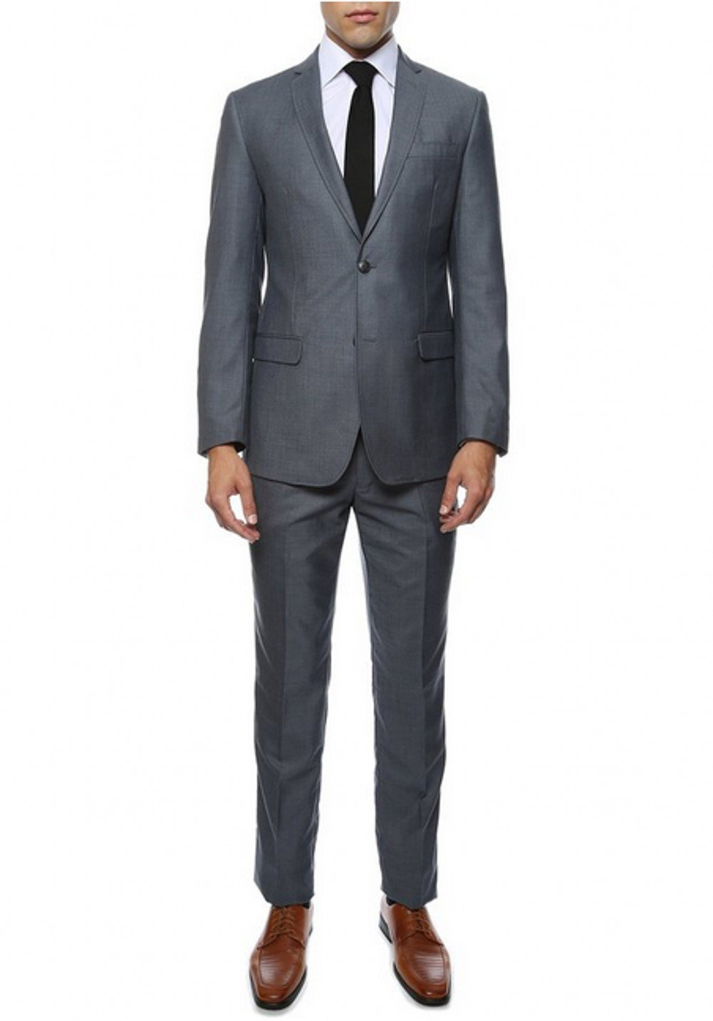 AK Beauty Men's Suit Two Buttons Groom Tuxedos Includes Jacket and Pants XXXXXL