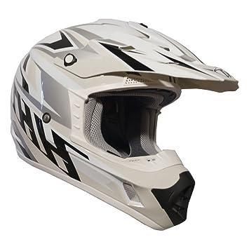 Casco de motocross MX Enduro THH TX12 N.º 19 para adultos