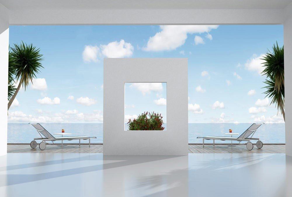 D/éco et photo murale XXL Qualit/é HD Scenolia Papier Peint d/éco poster RESIDENCE SECONDAIRE 3 x 2,70 m