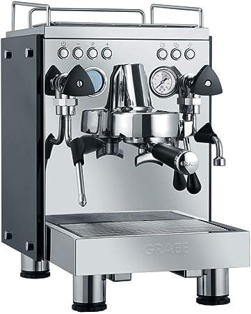 Graef ES 1000 CONTESS - Cafetera (Independiente, Máquina espresso, 2,5 L, Granos de café, De café molido, 2850 W, Acero inoxidable): Amazon.es: Hogar