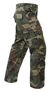 4. Rothco Vintage Paratrooper Fatigue Camo Cargo Pants for Women