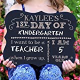 First Day Of School Personalized Chalk Board Sign