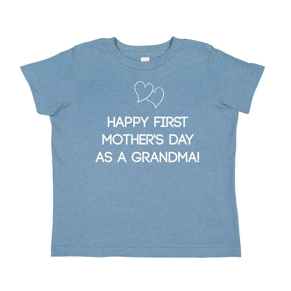 Happy First Mothers Day As A Grandma Toddler//Kids Short Sleeve T-Shirt