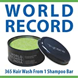 Trycone Apple Cider Vinegar Shampoo Bar with Conditioner,Biotin & Argan Oil, World Record of 365 Hair Wash from 100 Gm