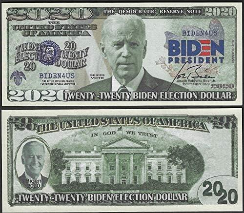 Presidential Series #46 Official Legal Tender $2 Bill w// Folio JOE BIDEN