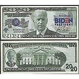 PRESIDENT BIDEN HARRIS 2020 ELECTION DOLLAR DEMOCRATIC NOTE Lot of 100 BILLS