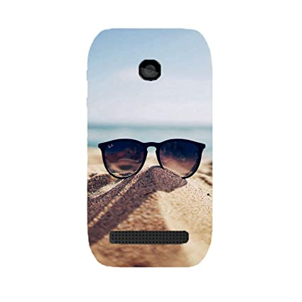 Nokia 603 Shades Uv Printed Back Cover by Videotronix