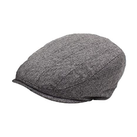 5ff9b5dc2ac Amazon.com  ZHANGZHIYUA Mens Winter Newsboy Cap Fitted Ivy Flat Cap Cold  Weather Hats Lined  Sports   Outdoors