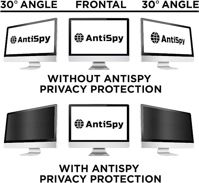 30 /° Anti-Sneak Peek 100 Anti-Blue Augenschutzfolie LCD-Schutzfolie lembrd Blickschutzfilter Privacy Filter Blickschutzfolie f/ür 21-24 Zoll Desktop Computer