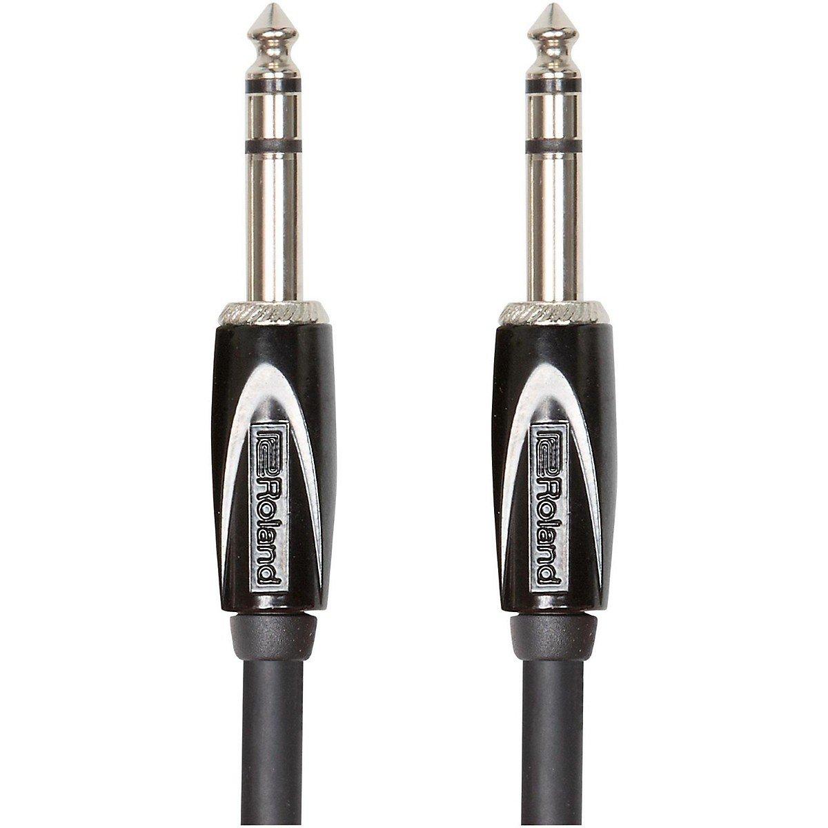 Black Roland RCC-15-TRTR Interconnect Cables