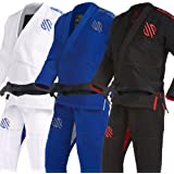 Sanabul Essentials Version 2 Ultra Light BJJ Jiu Jitsu Gi with Preshrunk Fabric