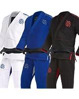 Sanabul Essentials Version 2 Ultra Light BJJ Jiu Jitsu Gi with Preshrunk Fabric