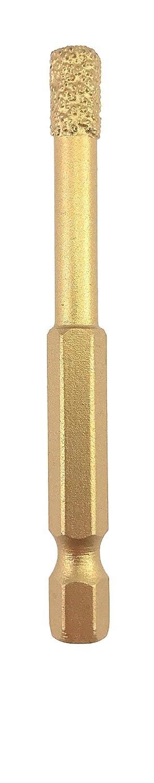 PRODIAMANT Profi Diamant-Bohrkrone Fliese 8 mm x Bit Aufnahme Fliesenbohrer Trockenbohrer PDX855.804 8mm f/ür Bohrmaschinen und Akkuschrauber