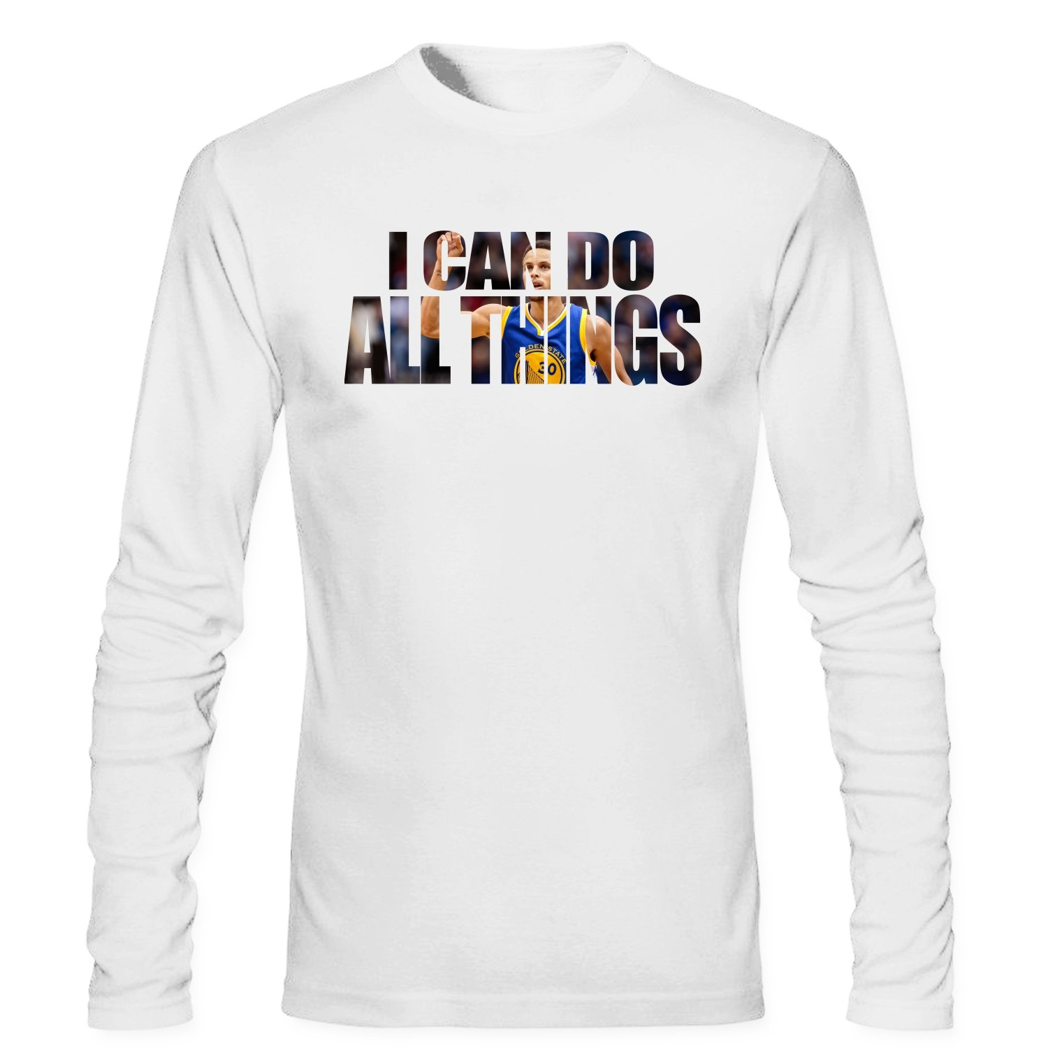 100% authentic 38221 b4074 Amazon.com: SKVV Men's Stephen Curry I Can Do All Things ...
