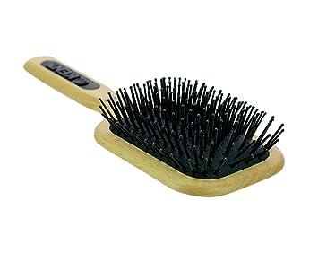 Kent AH2 (PF18) Beechwood Fine Pin Quilled Medium Paddle Maxi Taming Hair  Brush - For Grooming