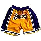 YHsports L.A Lakers Basketball Shorts f/ür Herren