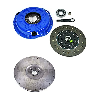 EFT STAGE 2 CLUTCH KIT+FLYWHEEL FOR FRONTIER PATHFINDER XTERRA 3.3L VG33E NON-S/C: Automotive