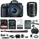 Canon EOS 7D Mark II 18-135mm f/3.5-5.6 IS USM Wi-Fi Adapter Kit + 128GB Bundle