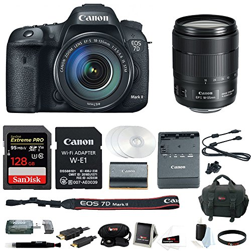 Canon EOS 7D Mark II 18-135mm f/3.5-5.6 IS USM Wi-Fi Adapter