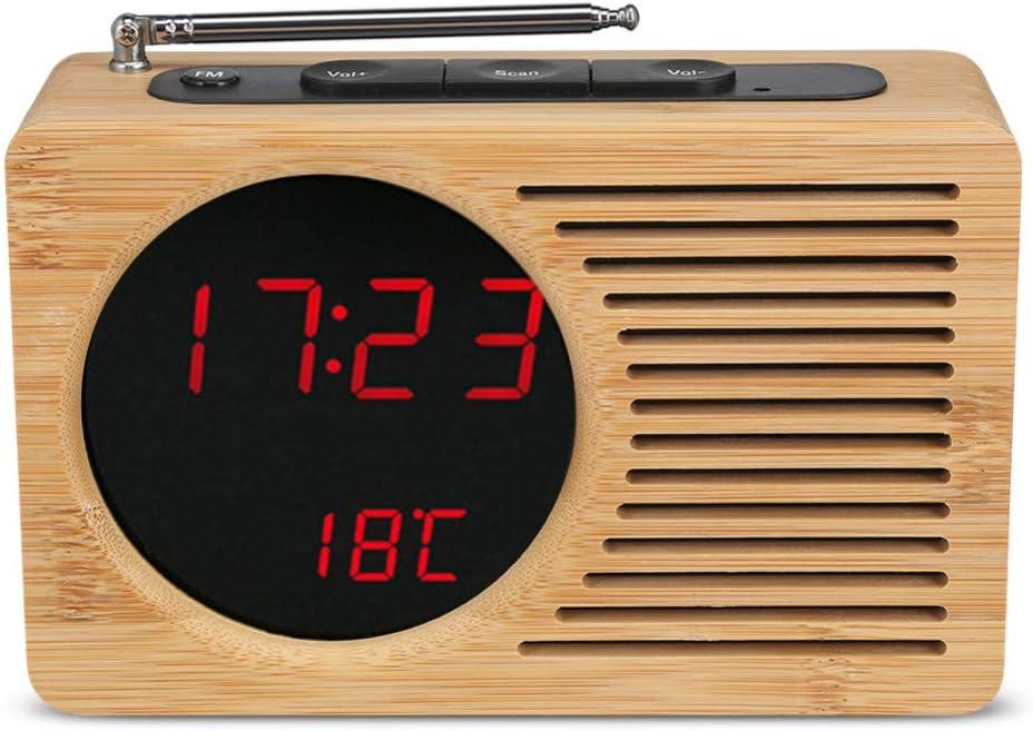 Orologio Digitale da Tavolo Stazione Meteo con Temperatura e Sveglia Grundig