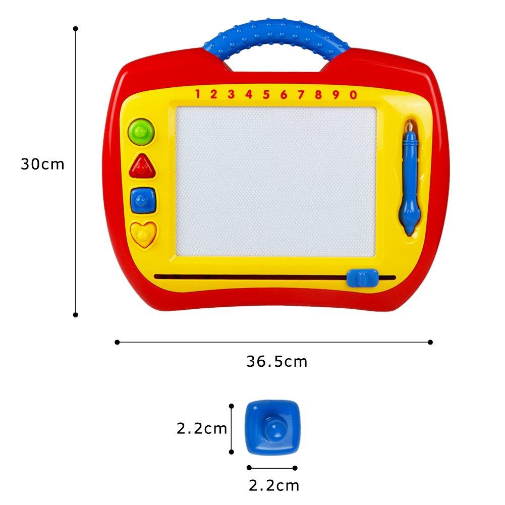 Zaubertafel Maltafel Magnettafel für Kinder Junge und Mädchen 3 4 5 jahre alt