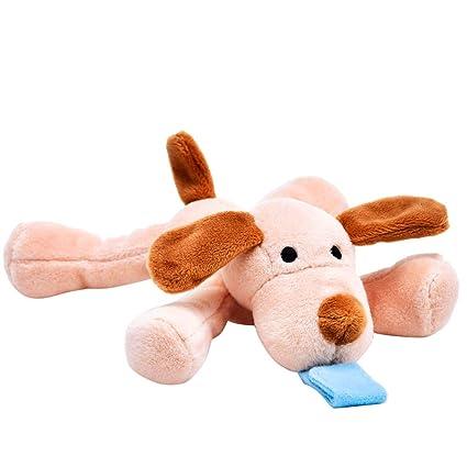 TianranRT Bebé tranquilo cachorro muñeca bebé chupete ...