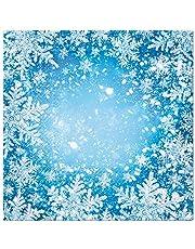 20 servetten sneeuwkristallen magie | sneeuwvlokken | winter | Kerstmis | tafeldecoratie 33 x 33 cm