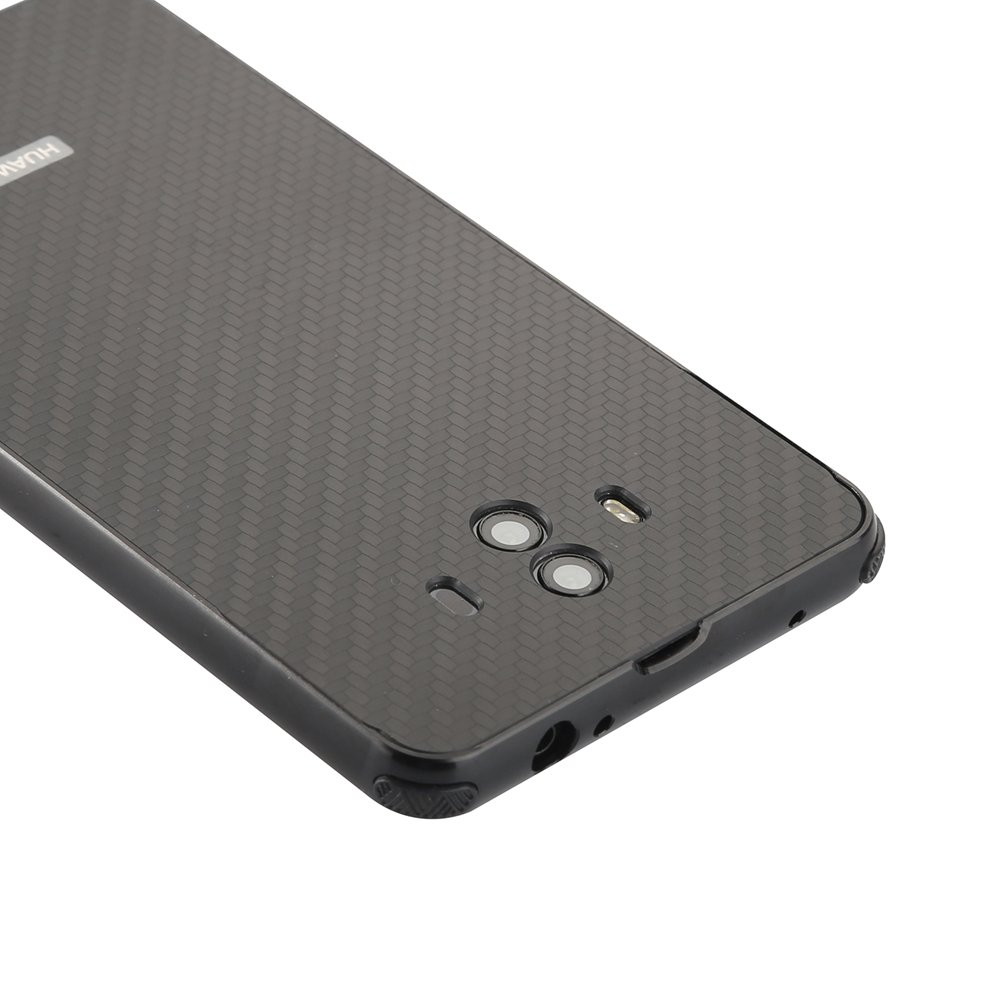 Carcasa Para Huawei Mate 10 Funda Aluminio Metal Fibra De Carbono  # Muebles Fibra De Carbono