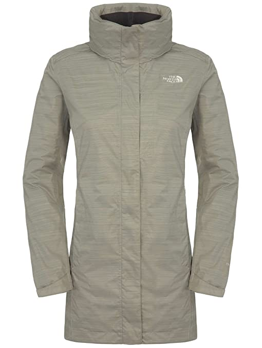North face cirrus parka pache grey