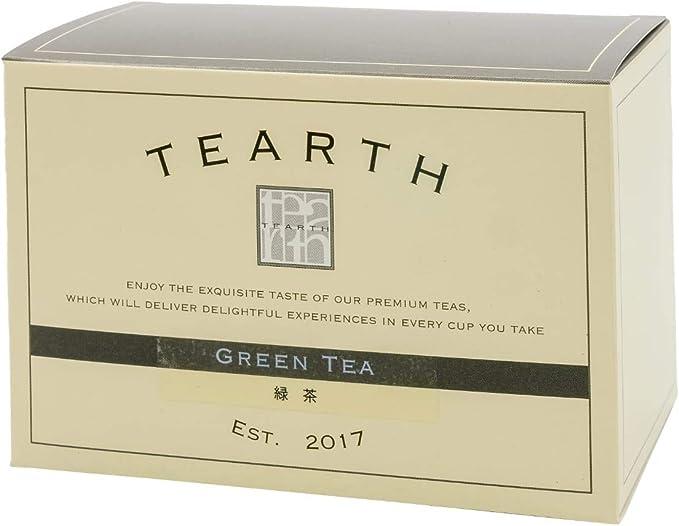TEARTH ( ティーアース ) 日本茶 緑茶 ティーバッグ 25袋入り 個包装