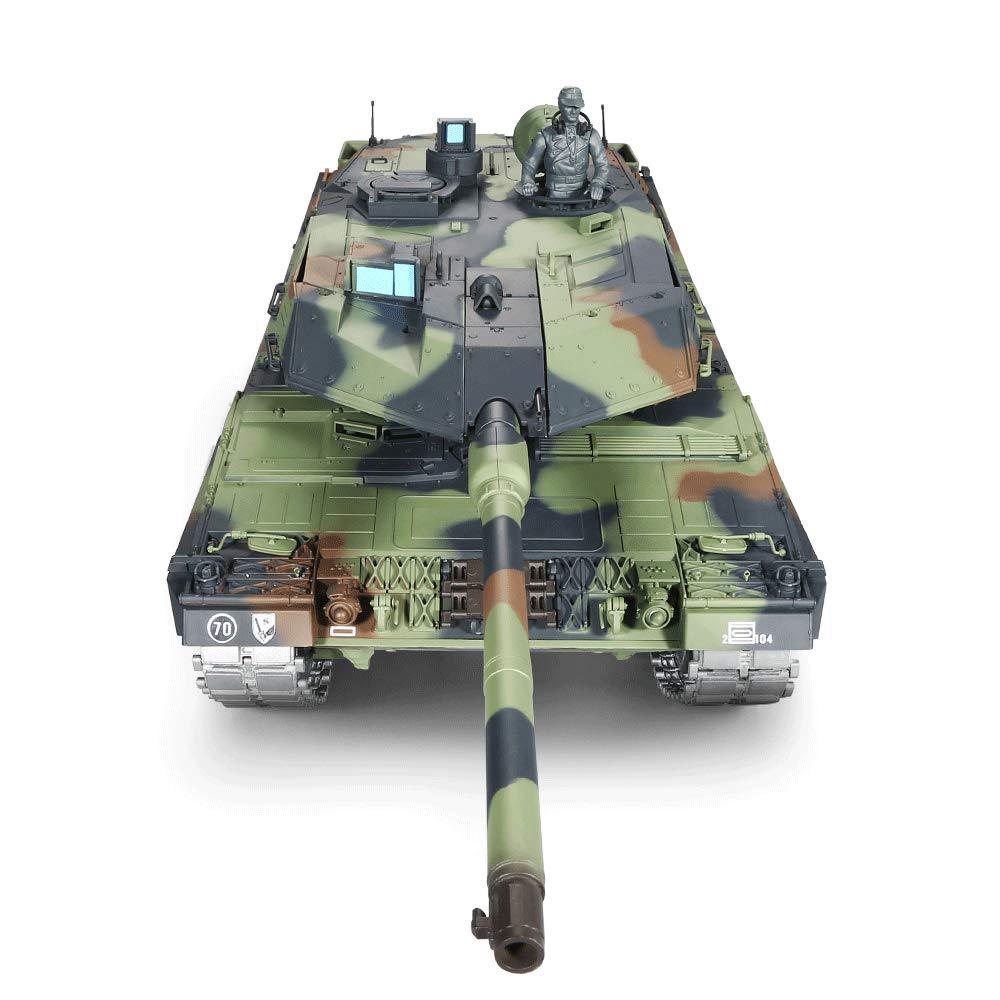ofrecemos varias marcas famosas 1 battery Mogicry 1 16 2.4 GHz Aleación Aleación Aleación Alemania Luz Leopard 2A6 Modelo de Juguete Tanque de Cochega Inalámbrica de Control Remoto Decoración del Hogar del Coche RC Regalo del Coche Boy para Niños 3+  mejor reputación