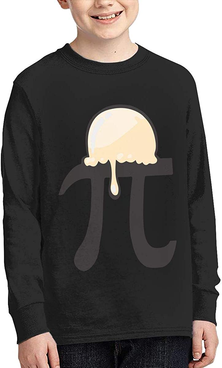 Teenagers Teen Girls PI A LA Mode Printed Long Sleeve 100/% Cotton Tops