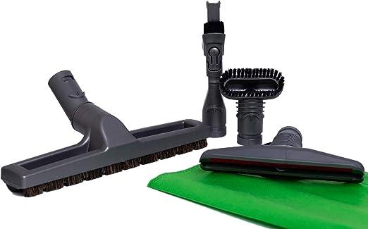 Green Label Kit de 4 Cepillos para Aspiradoras Dyson: Cepillo de Cerdas, Cepillo Rígido, Accesorio para Colchones, Accesorio Combinable 2-en-1: Amazon.es: Hogar