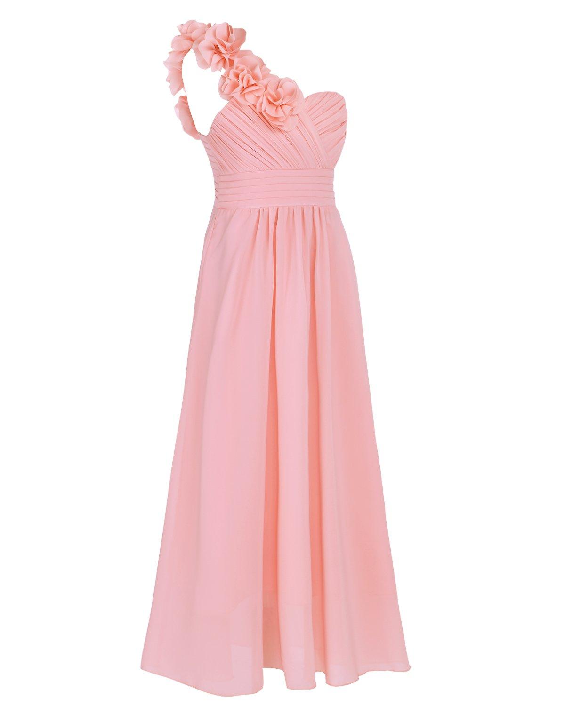 One Shoulder Bridesmaid Dress: Amazon.co.uk