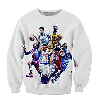 Amazon.com: Warlmarts Hoodies Basketball Hoodies for Mens weatshirts for Men Print 3D Sweatshirt: Clothing