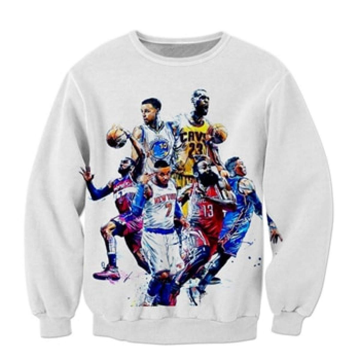 Amazon.com: Warlmarts Hoodies Basketball Hoodies for Mens weatshirts for Men Print 3D Sweatshirt: Clothing