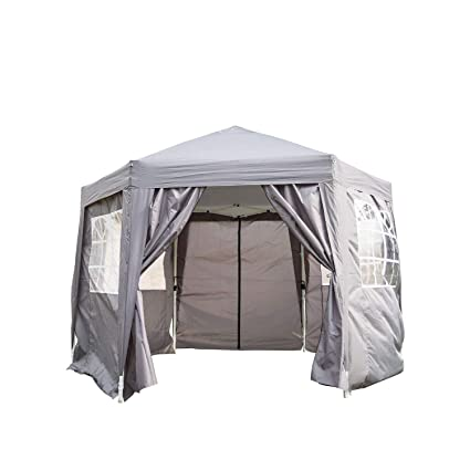 Amazon.com  Peach Tree 12 x 8 Instant Shelter Canopy Outdoor Wedding Party Tent Foldable Portable Pop Up Lightweight Canopy w/Carrying Bag 6 Sides Wall ...  sc 1 st  Amazon.com & Amazon.com : Peach Tree 12 x 8 Instant Shelter Canopy Outdoor ...
